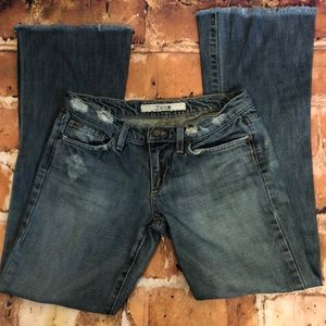 Joe's frayed jeans size 28